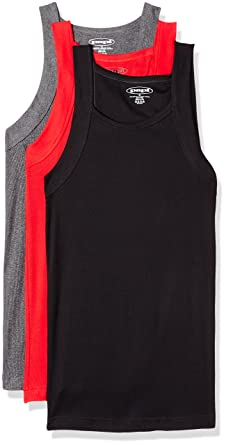 186676357cac44 papi Men s 3 Pack Square Neck Tank Top at Amazon Men s Clothing store