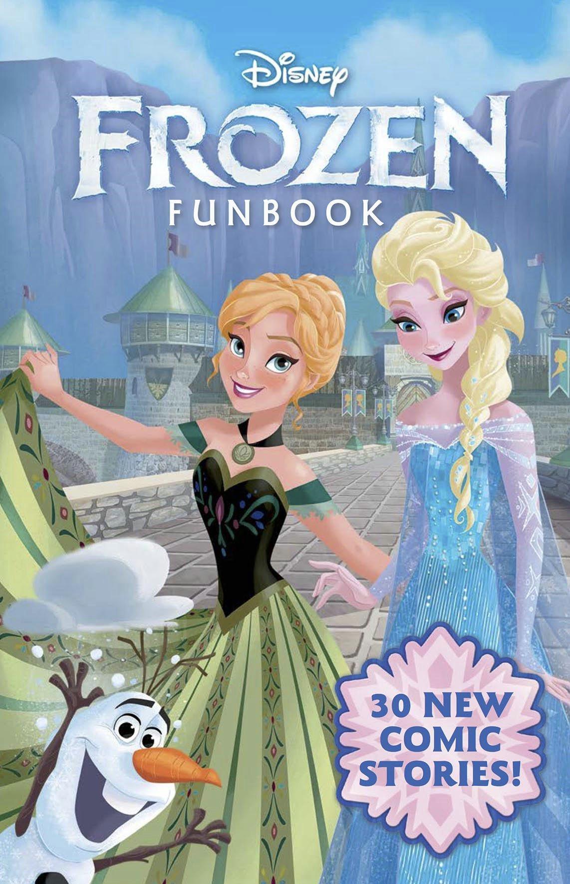 Disney Frozen Fun Book JOE BOOKS INC.