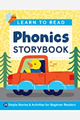 Learn to Read: Phonics Storybook: 25 Simple Stories & Activities for Beginner Readers Kindle Edition