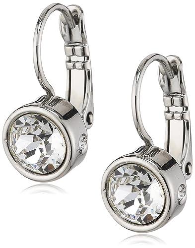 Dyrberg/Kern Madu RG Crystal 334720 Woman's Pendant Earrings Gold-Plated Metal FEFbZlowp
