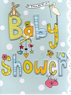 Extra Large Baby Shower Card Size 38 X 26 Cm Ideal For Office