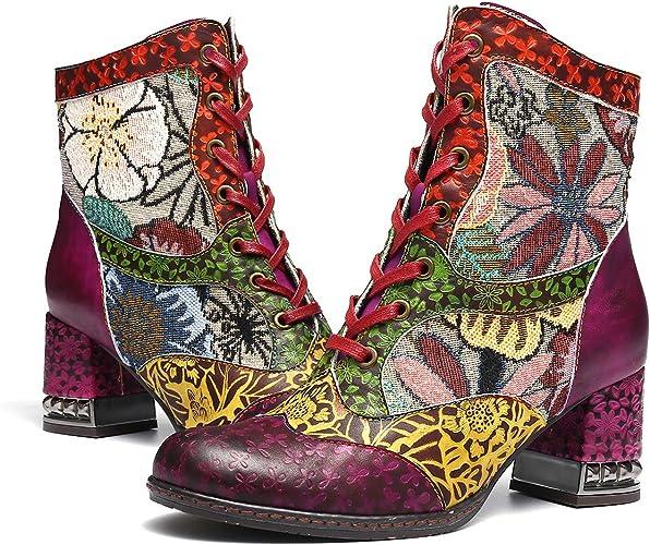 vintage boots 2019 winter autumn