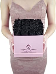 Valentine's Day Collections| Roses with Longevity (Medium, Black)