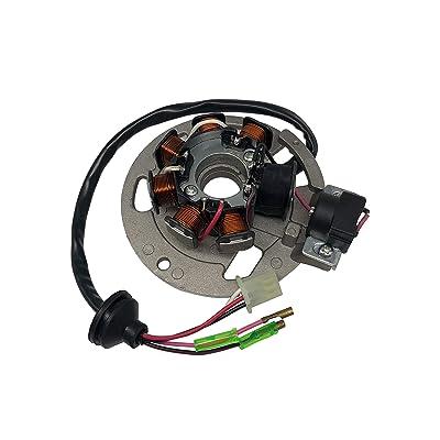SHUmandala Magneto Stator Replace for Polaris Scrambler 50 90 2001-2003/Sportsman 90 2001-2006/Predator 50 90 2003-2006 0450523 0451000 0450522 0450998/ETON 50 90 RXL-50 RXL-90 AXL/DXL/NXL/TXL 650234: Automotive