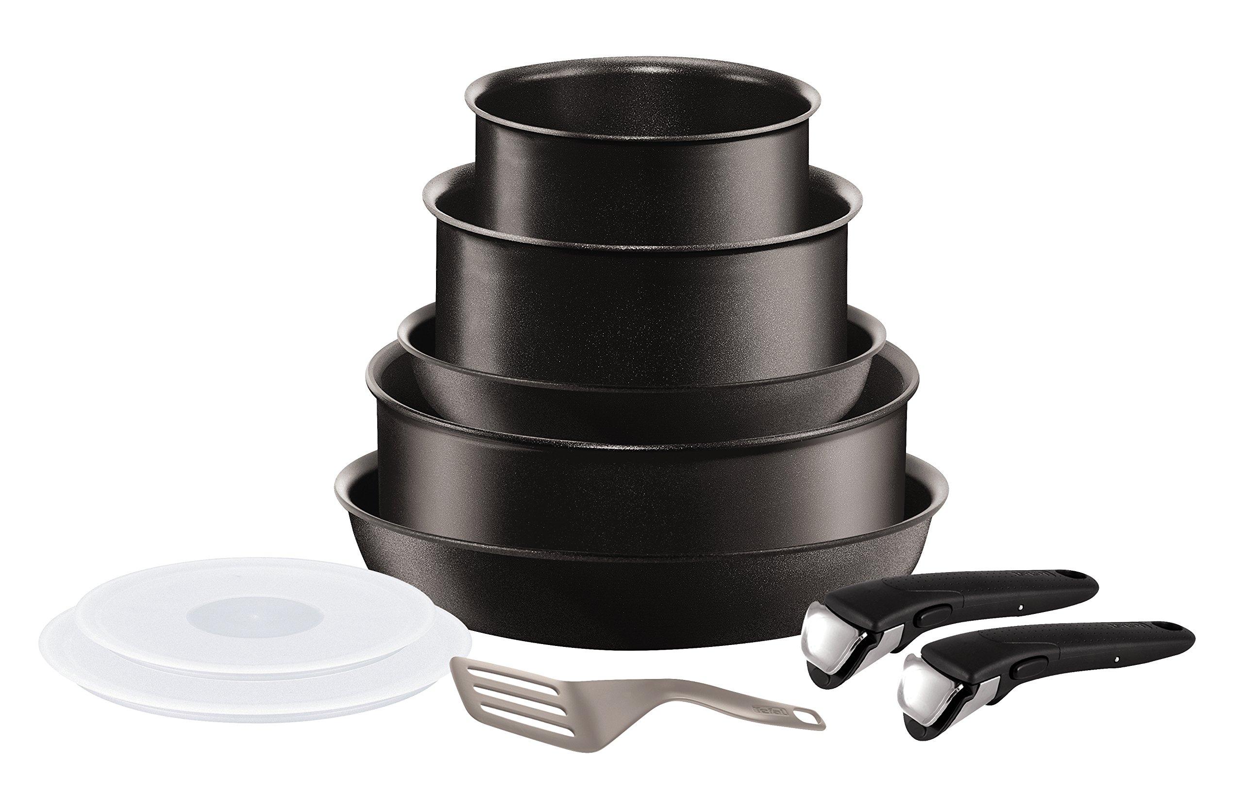Tefal L6549702 Set de poêles et casseroles - Ingenio 5 Performance Noir 10 Pièces - Tous feux dont induction product image