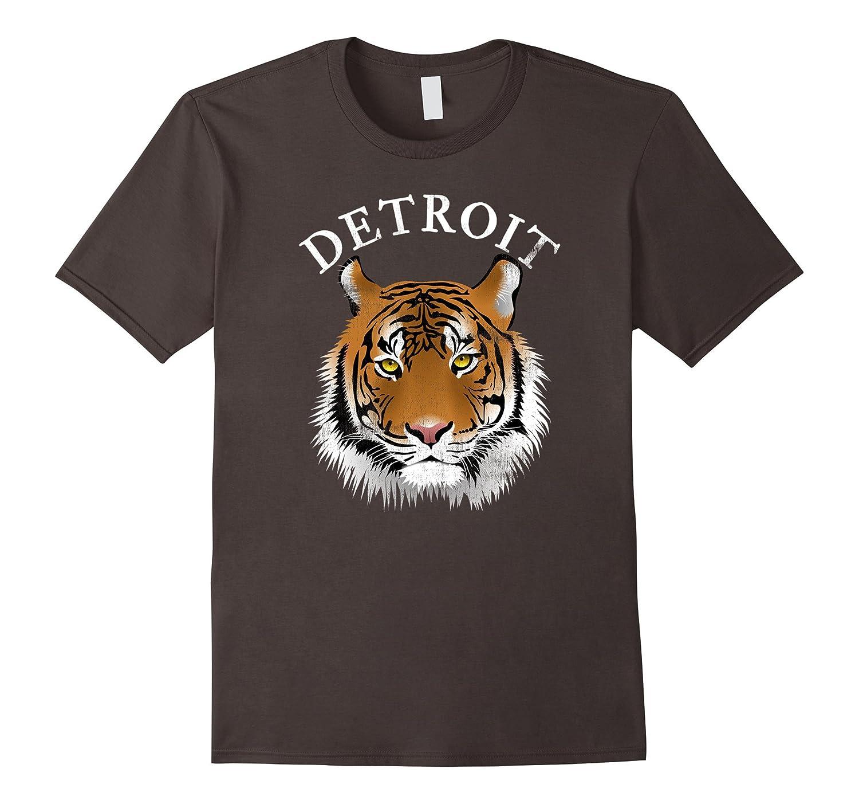 Vintage Tiger Detroit Mascot T-Shirt-TJ