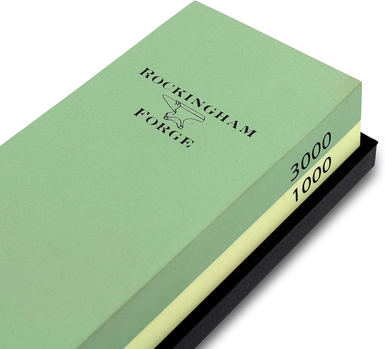 Coltello Pietra per affilare Grana 1000//3000 /Medium//fine Grunwerg Rockingham Forge Supersharp Cote 2/in1 180/x 60/x 15/mm/