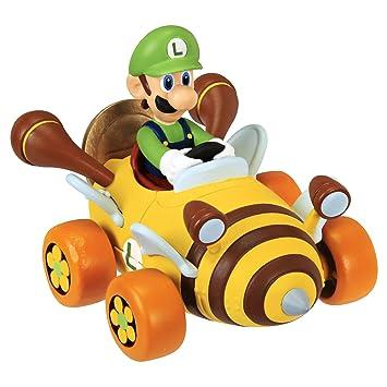 Super Mario Kart Luigi Auto Mit Münze Spielauto Amazonde Spielzeug