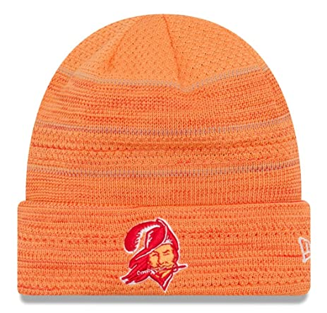 pretty nice 0a54a 43e51 ... coupon code for tampa bay buccaneers new era 2017 nfl sideline historic cold  weather td knit