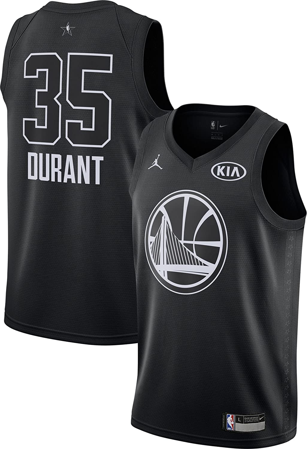d0e11a8d051b3 Amazon.com: Nike Youth Kevin Durant Swingman Jersey Golden State ...