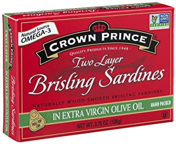 Crown Prince Two Layer Brisling Canned Sardine