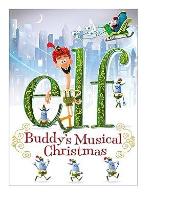 Elf Buddys Musical Christmas.Amazon Com Elf Buddy S Musical Christmas Jim Parsons