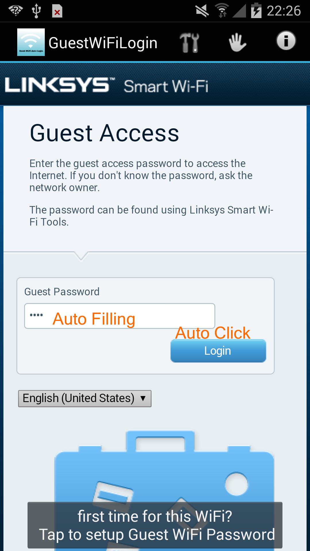 Guest WiFi Auto Login