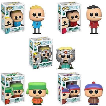 Amazon.com: South Park – Stan, Kyle, el profesor caos ...