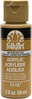 product image for FolkArt Acrylic Paint in Assorted Colors (2 oz), , Starlight Gold