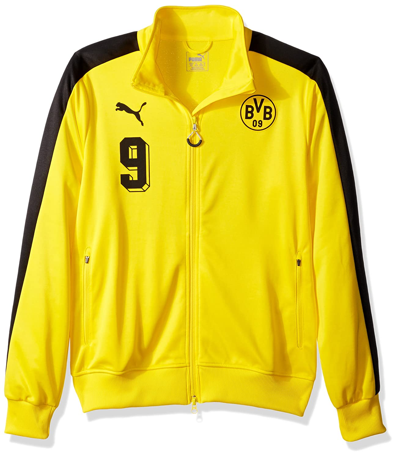 07497d96b0db PUMA Men s BVB T7 Jacket at Amazon Men s Clothing store