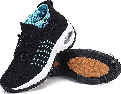 Mishansha Mujer Zapatos Deporte Zapatillas para Correr Mesh Calzado de Caminar,Gr.35-42 EU: Amazon.es: Zapatos y complementos