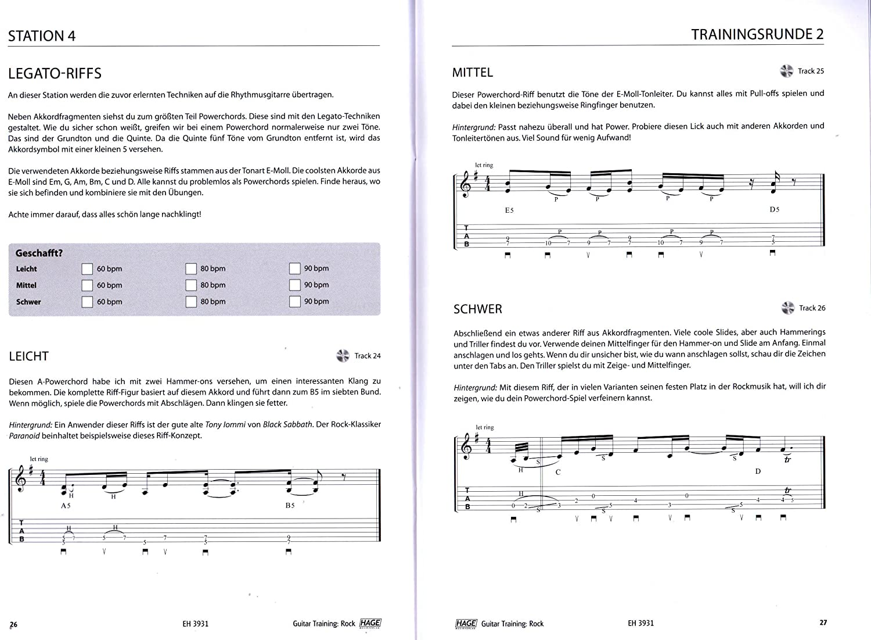 Guitar Entrenamiento Rock – Programa de entrenamiento definitiva ...