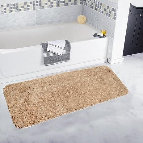 Amazon Pauwer Bath Rug Runner For Bathroom Microfiber Bath Rugs