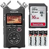 Tascam DR-40 4-Track Handheld Digital Audio