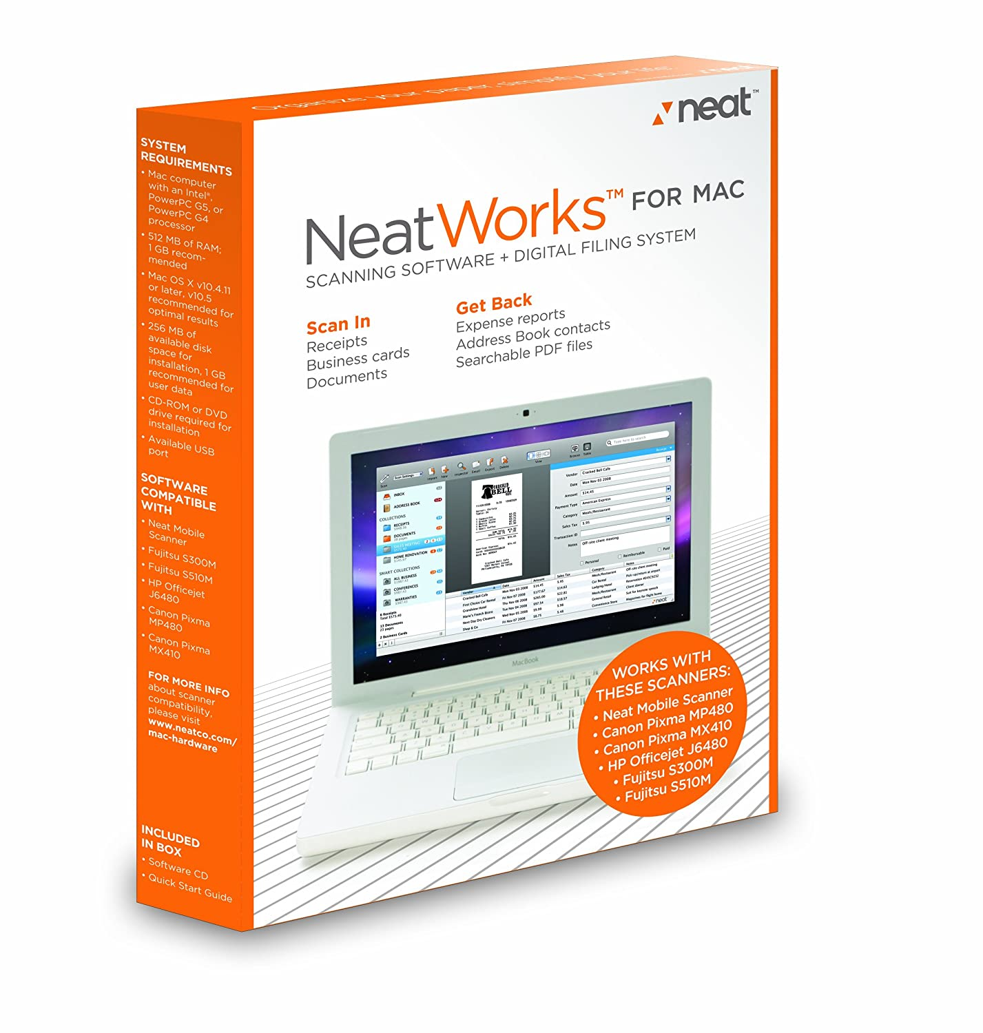 The Neat Company Neatworks Digital Filing System Software