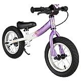 BIKESTAR RU-12-ST-01-LCWE Bike, Purple/White