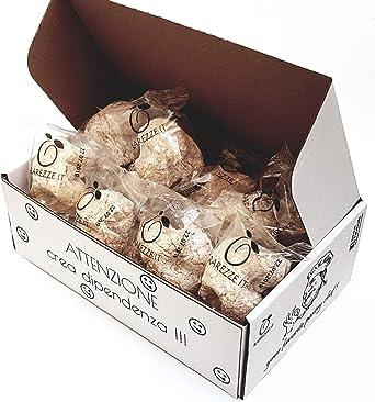 Dulces de almendra en una elegante confeccion de regalo (gr.400). RAREZZE: delicias de almendra realizadas con las antiguas recetas de la pastelería tradicional siciliana.: Amazon.es: Alimentación y bebidas