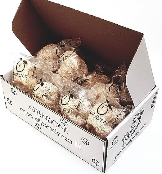 Paste di mandorla siciliane in box regalo (gr.400) da pasticceria artigianale siciliana. B01MXZ1BJK