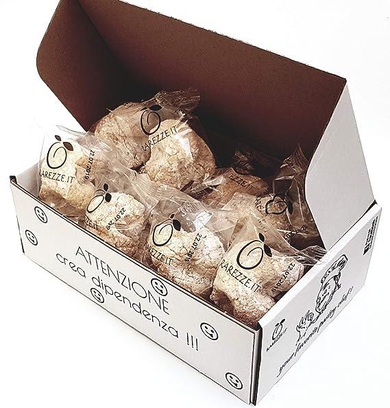 """Dulces de almendra en una elegante confeccion de regalo""""Sicilia"""" de 400gr. Rarezze"""
