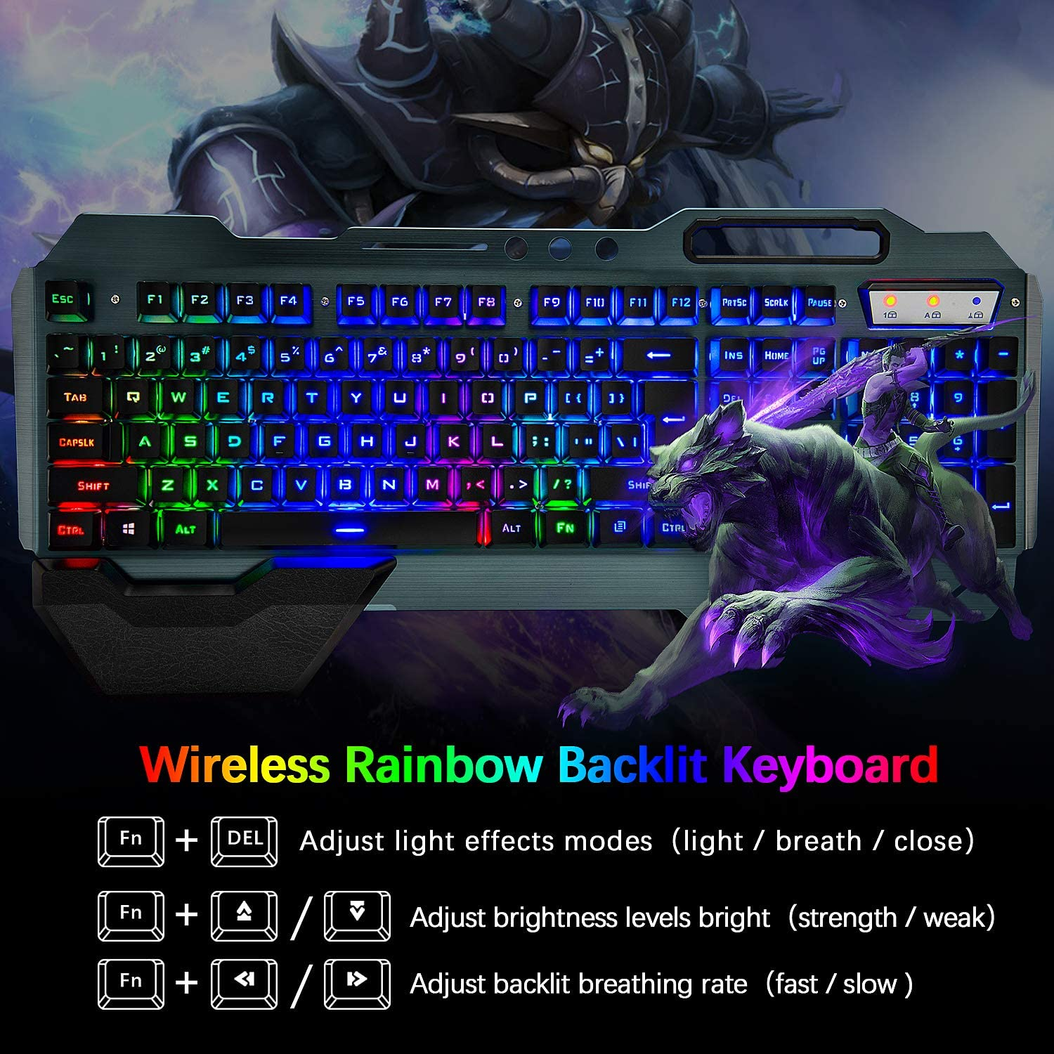 gaming keyboard and mouse combo