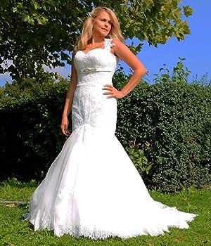 Suche nach Beamten Weltweit Versandkostenfrei Beamten wählen Luxus Brautkleid Hochzeitskleid Braut Spitze Mermaid ...