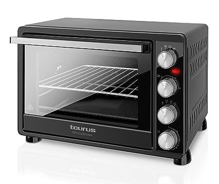 Taurus Horizon 45 - Horno de sobremesa con temporizador de 120 min, capacidad 45 L, 2000 W: Amazon.es: Hogar