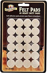 Parker Bailey cleaning product 48 Piece Heavy Duty Felt Pads, 2 Packs