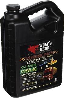 Wolfs Head 836-99107-36 Motor Oil (SYN BL 15W40)