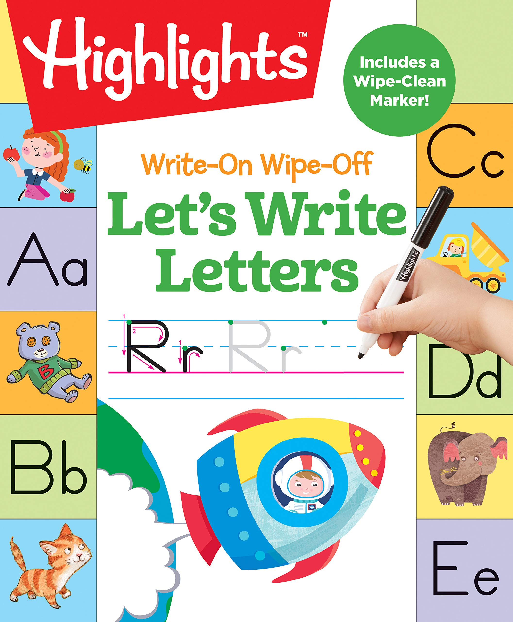 Write Wipe Off Letters HighlightsTM Activity product image
