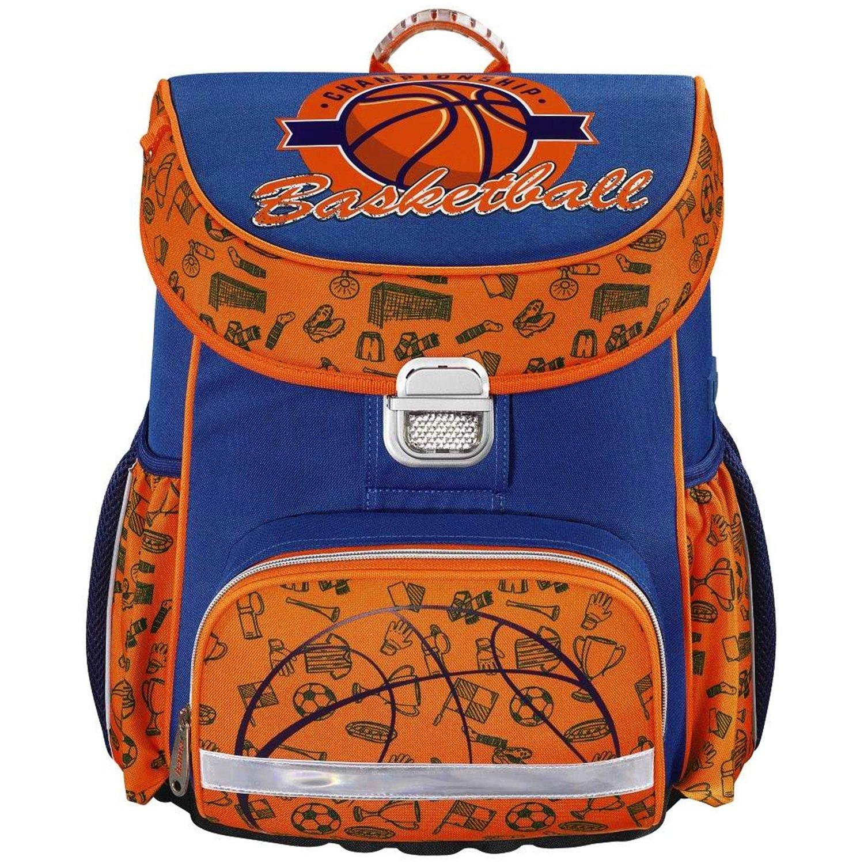 ca61d0f140 Zaino scolastico scolastico scolastico HAMA pallacanestro basketball blu  arancione b14f1b