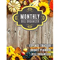 Monthly Bill Organizer: household budget planner with income list, Weekly expense tracker, Bill Planner, Financial…