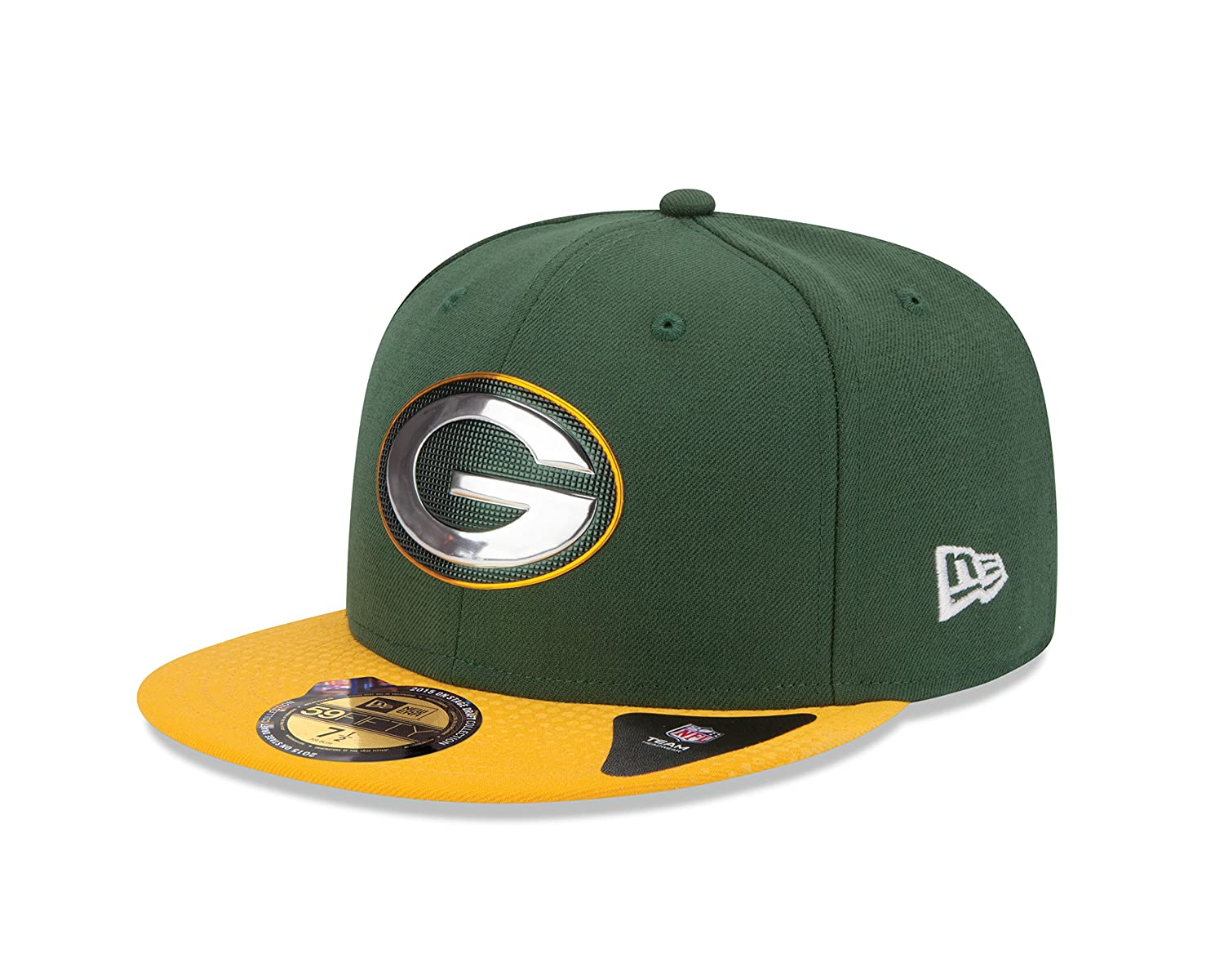 the latest b68ac ed1b6 Amazon.com   New Era 2015 NFL Draft On Stage 59Fifty Fitted Cap   Clothing
