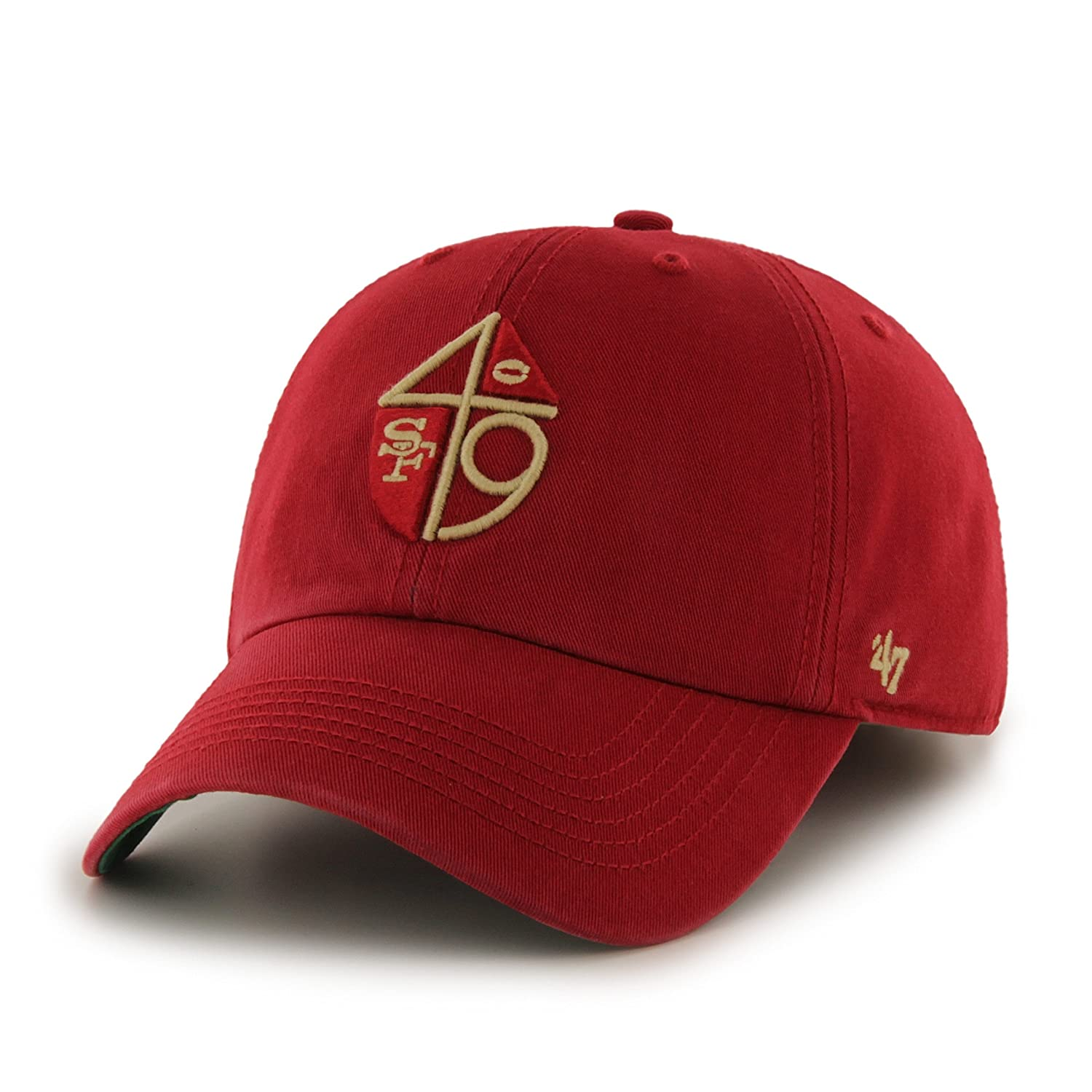 ... cheap amazon nfl san francisco 49ers franchise fitted hat small red b  sports outdoors feedd 6e2e2 4dc728d26