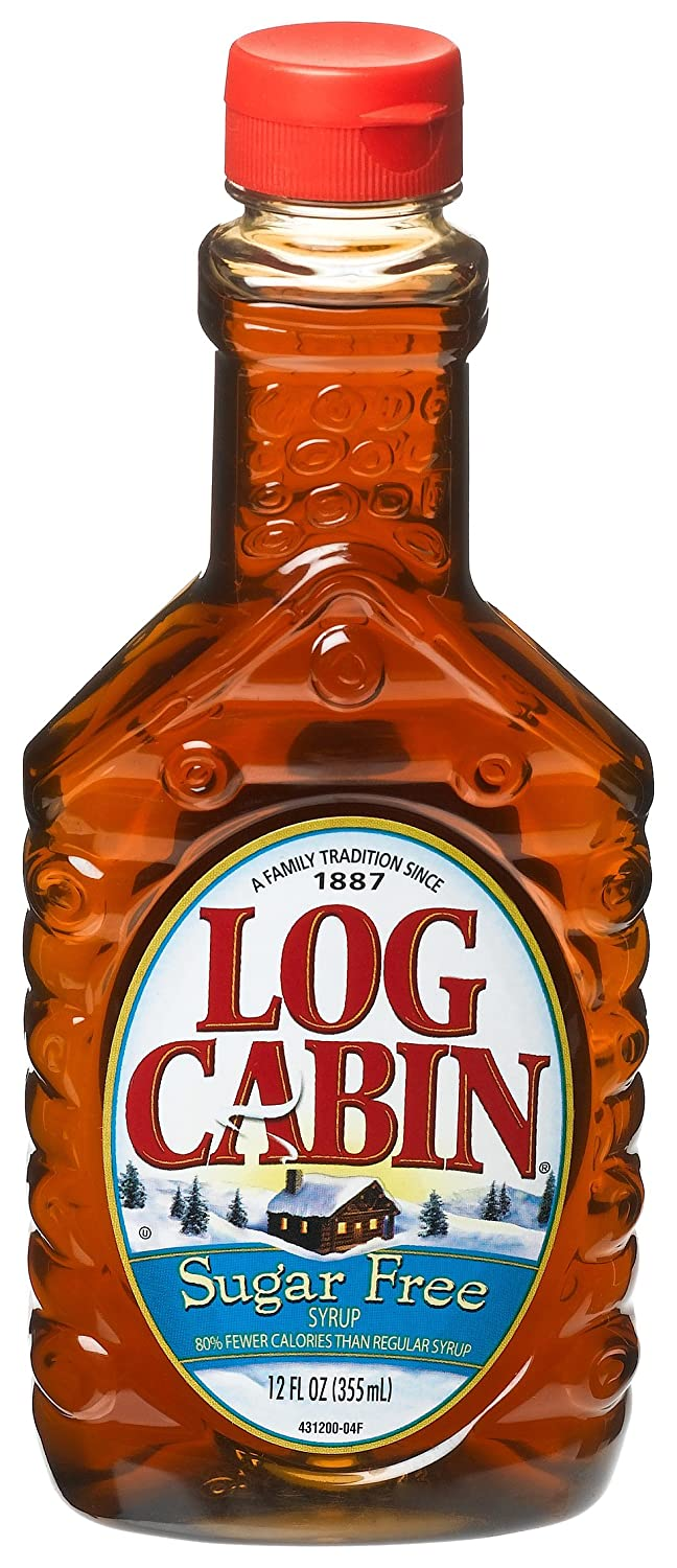 Attrayant Amazon.com : Log Cabin Sugar Free Syrup, 24 Ounce Units (Pack Of 12) :  Maple Syrups : Grocery U0026 Gourmet Food