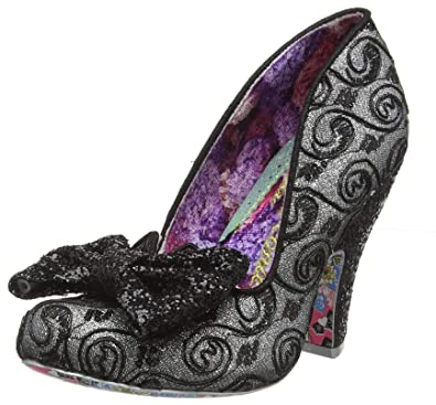 505f4b5ef377 Irregular Choice Women's Nick of Time Closed-Toe Pumps, Black (Black Multi  Ar
