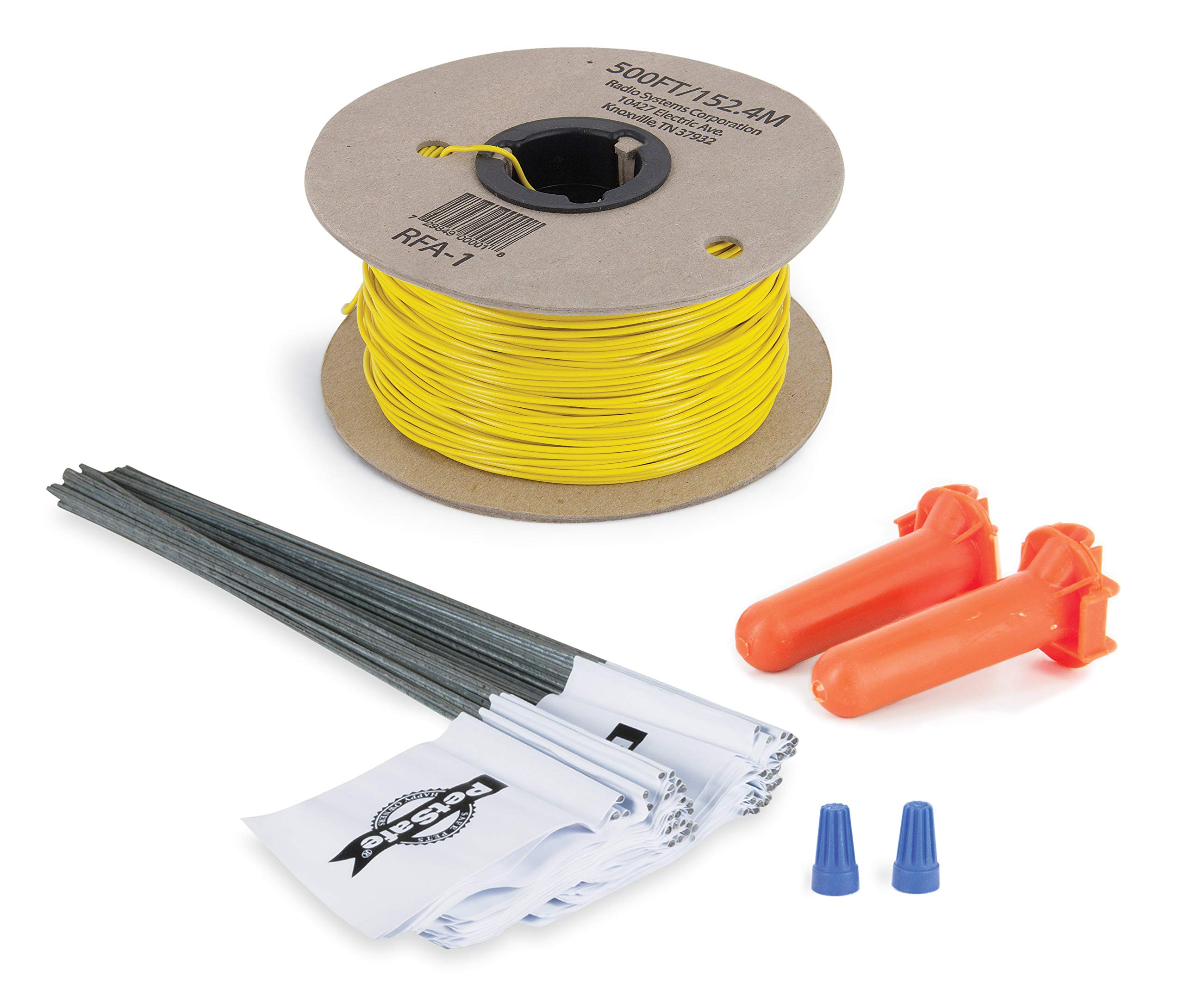PetSafe Fence Wire and Flag Kit, Includes 50 boundary Flags and 500 ft of Wire, Expand your In-Ground Fence by PetSafe