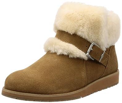 0ab14812989 EMU Australia Womens Oxley Fur Cuff Deluxe Wool Boots: Amazon.com.au ...