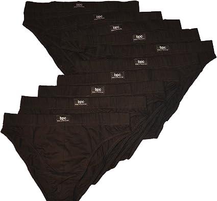 G/ötzburg Herren 10er-Pack Slips Unterhosen aus nat/ürlicher Baumwolle