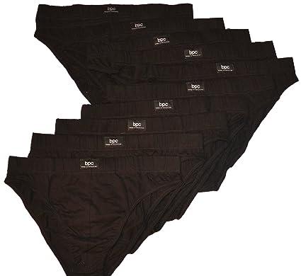 10er-Pack Herrenslips Slip aus Baumwolle Unterhosen Männer Unterwäsche, Größe  4, 5,