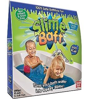 Slime Baff - Polvo para baño, color Azul, 150 g: Amazon.es: Belleza