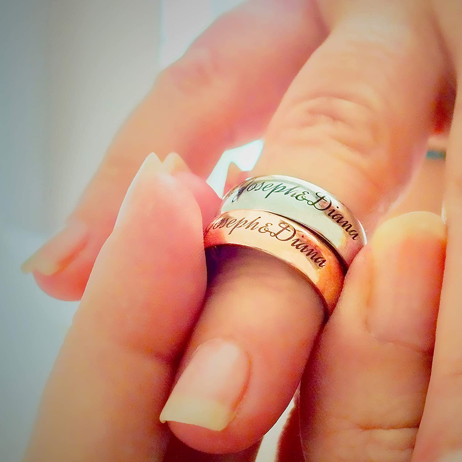 Personalized GREAT DAD Ring Family Ring Custom Father Name Gift for Father