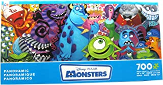 product image for Ceaco Disney Panoramic Monsters Jigsaw Puzzle, 700 Pieces
