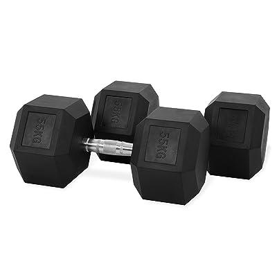 Hastings-Haltères Hexagone-55kg-Set