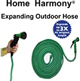 Ultimate Super Strong Web Design Double Latex Core Expandable No Kink Garden Hose Pipe Available Sizes 50ft, 100ft, 150ft (50 Feet)